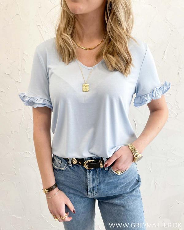 Lyseblå t-shirt til damer fra Grey Matter