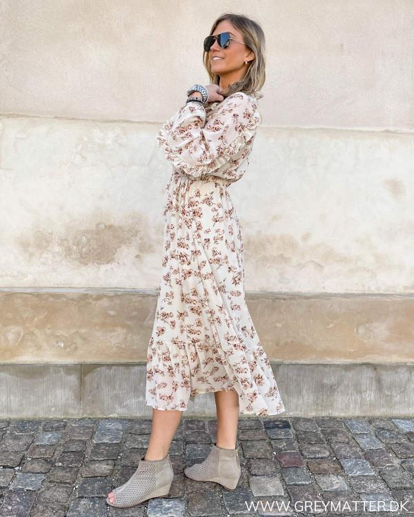 Flot kjole med blomsterprint fra Grey matter