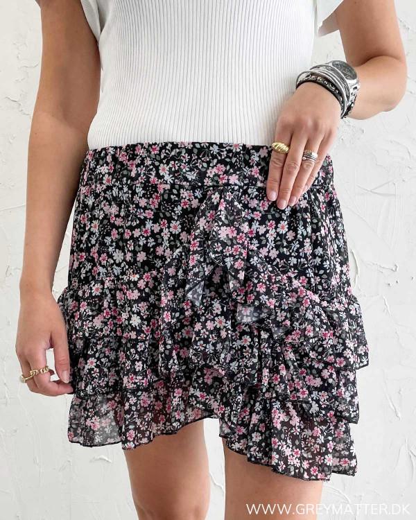 Mini skirt med print fra Grey Matter Fashion