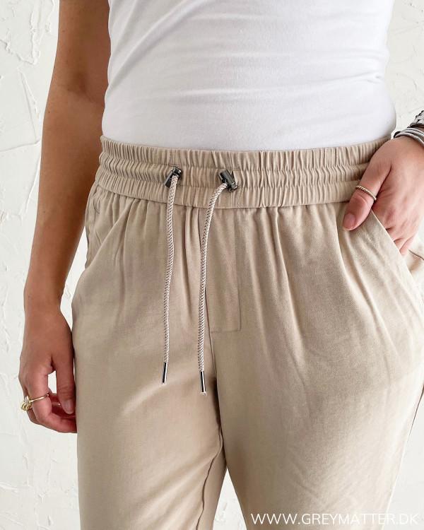 Only bukser med elastik kant i taljen