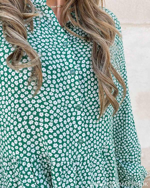 Grønt blomsterprint fra Grey Matter