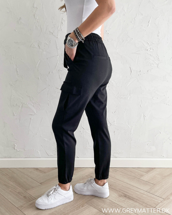 Cargo bukser med høj talje til damer