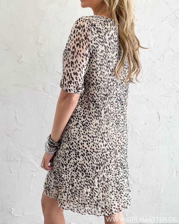 Smuk leopard kjole fra Pieces