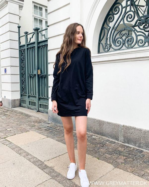 Sweatshirt kjole fra Only
