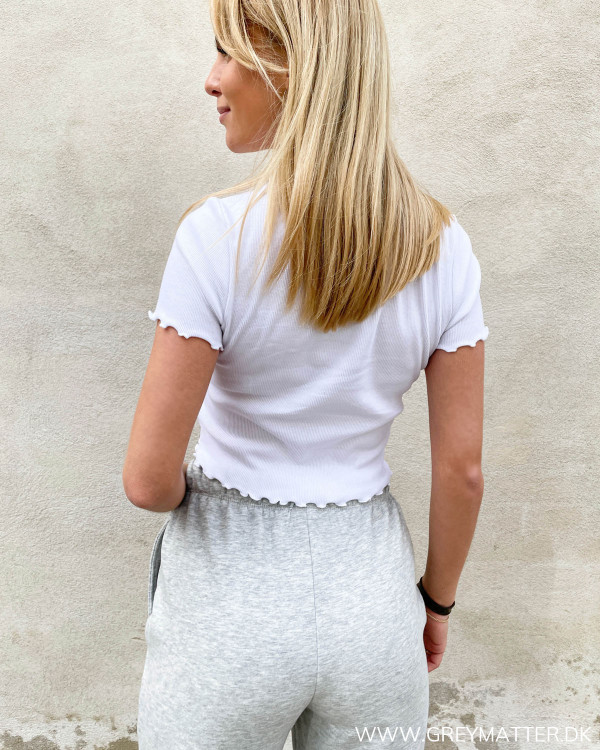 Pieces rib bluse sommerens trend 2021