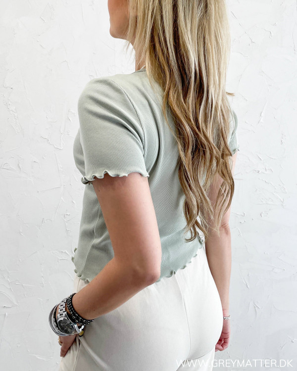 Pieces bluse high fashion trend