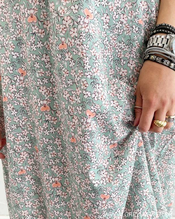 Skøn kjole med print