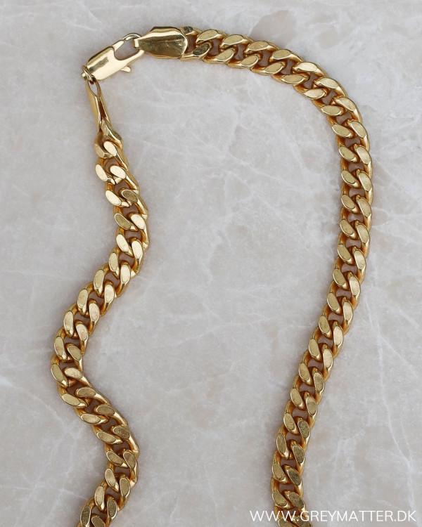 trendy guldkæde til damer