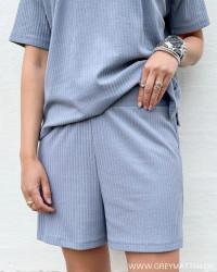 Pcribbi Blue Fog Shorts