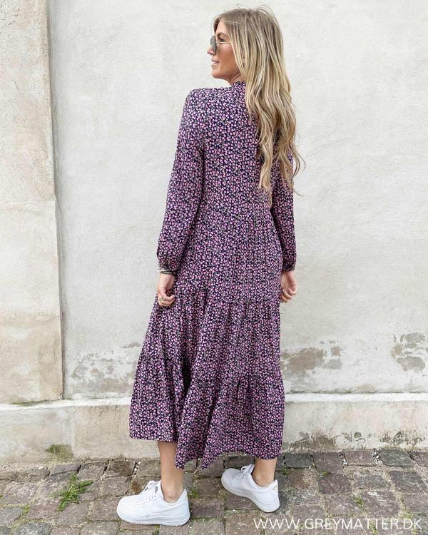 Kjoler med print og lange ærmer