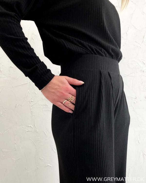 Langærmet bluse til Kvinder
