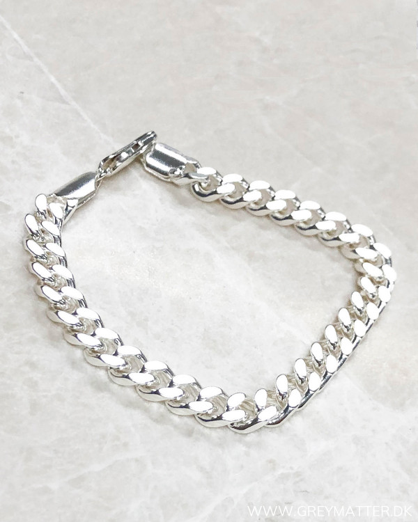 Cool Panzer Silver Bracelet