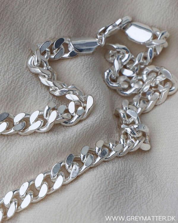 Halskæde chain silver Pure By Nat
