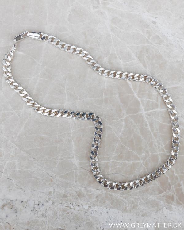Panzer sølv halskæde Grey Matter