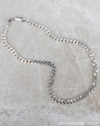 Cool Panzer Silver Necklace