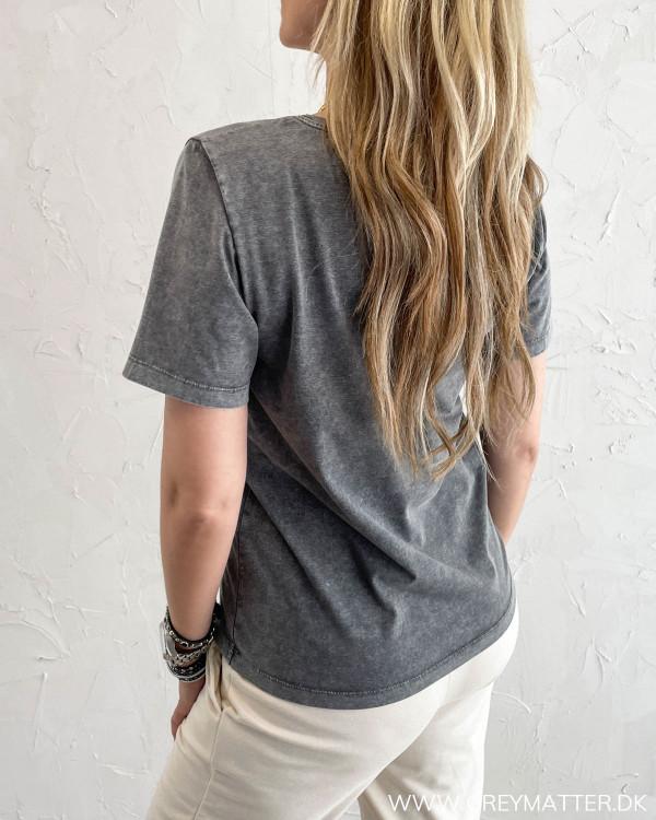 T-shirt med print fra Grey Matter Fashion