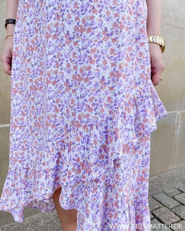 Sommer nederdel med print til damer