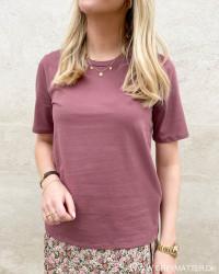 Onlonly Rose Brown T-Shirt