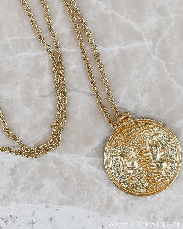 Medaljon halskæde fra Pure By Nat