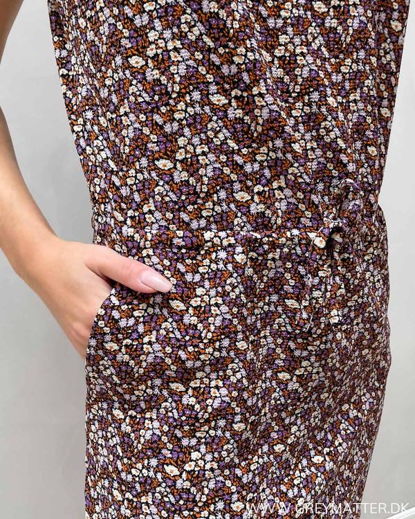 Only kjole til hverdag med print