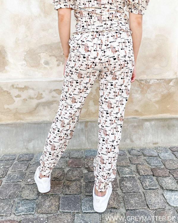 Dame bukser med print