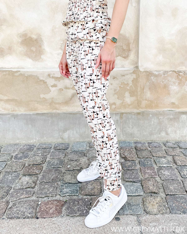 Vila bukser med print