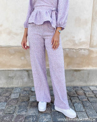 Pclala Orchid Bloom Wide Pants