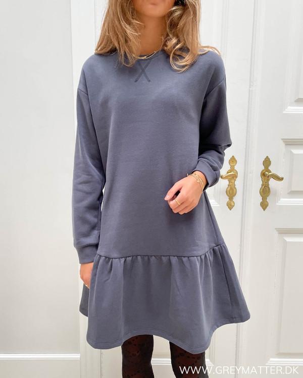 Sweat kjole i casual stil til damer