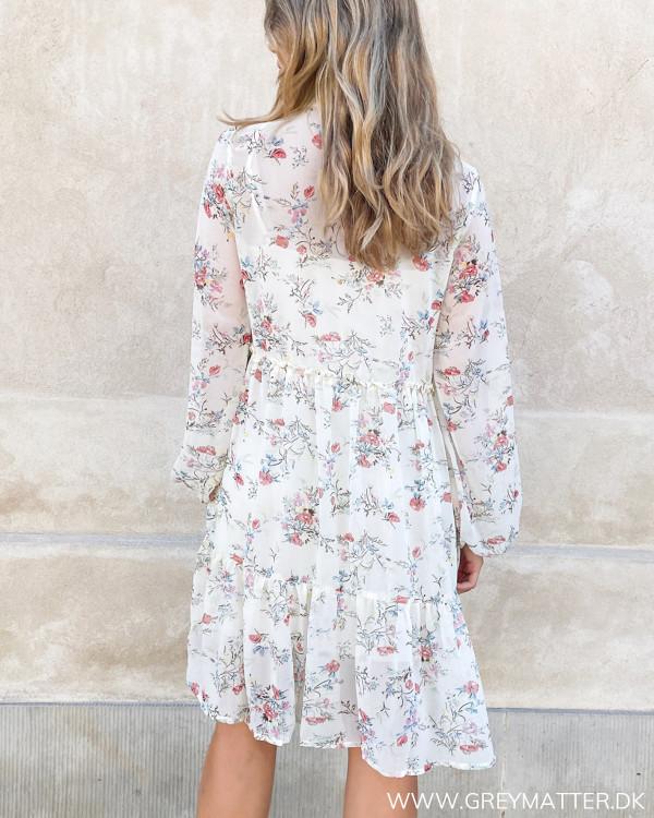 Vila kjole med blomsterprint