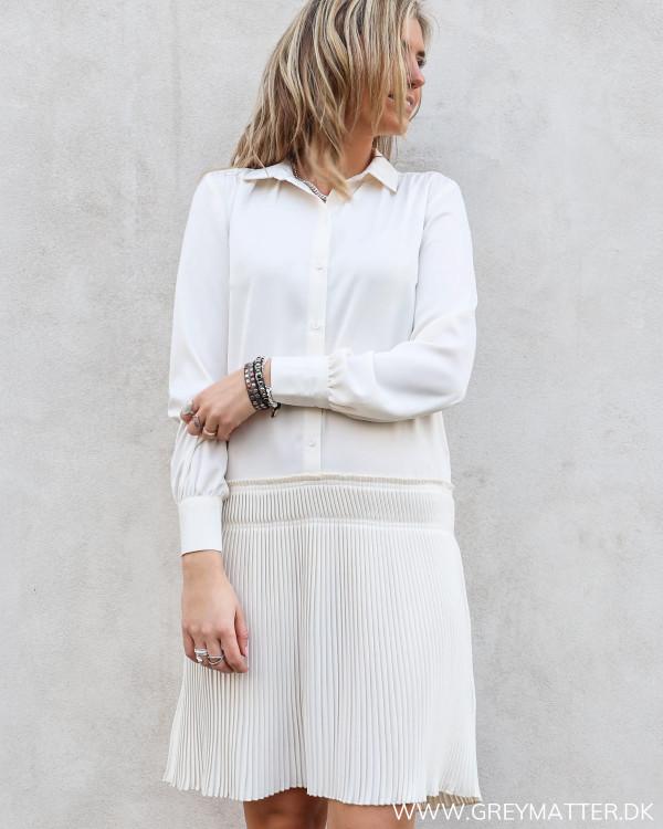Yasistinye Star White Shirt Dress