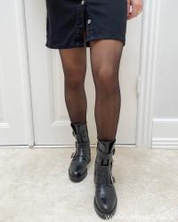 Vitassi Black Shape Tights