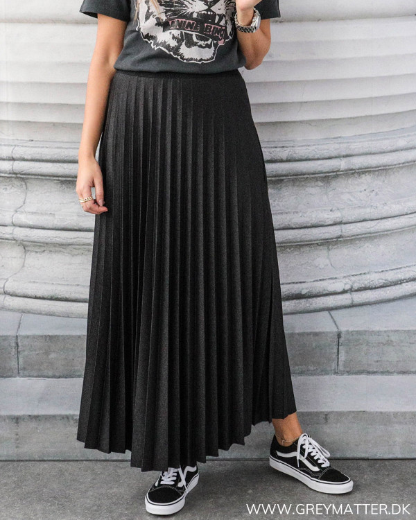 Plissé skirt
