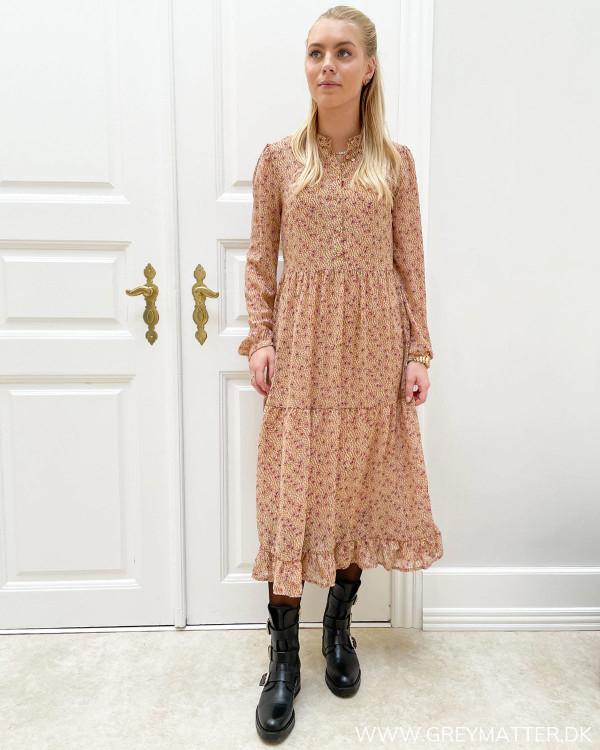 Midi dress med print fra Grey Matter