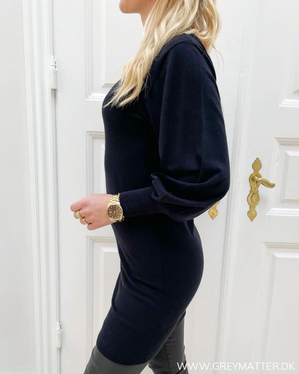 Only sort strik kjole til damer