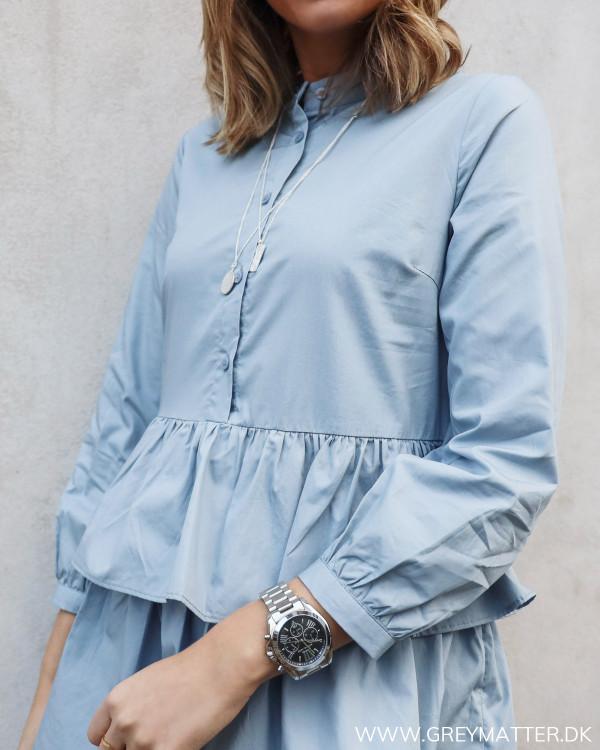 Yasdawn Dusty Blue Shirt Dress