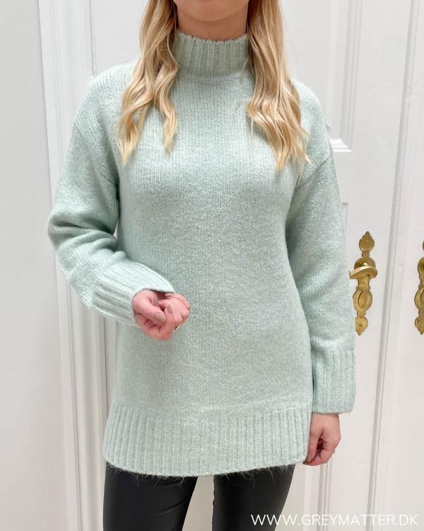 Lysegrøn sweater fra Only til damer