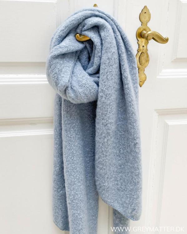 Halstørklæder til damer i blå farve