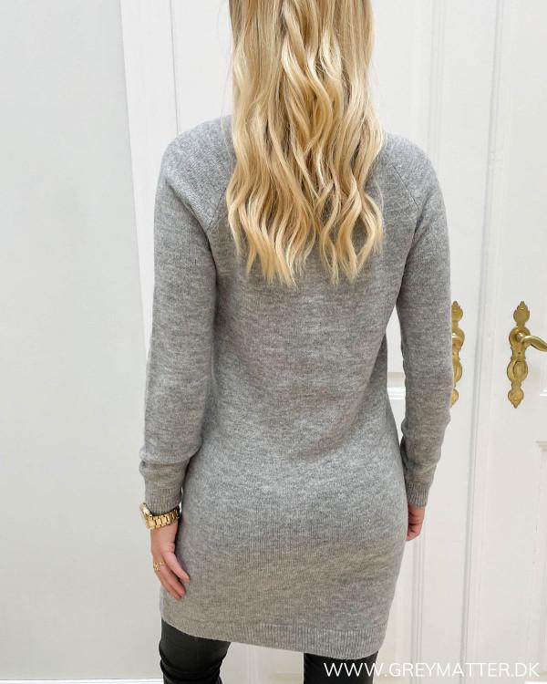 Strik kjoler til damer i grå fra Pieces