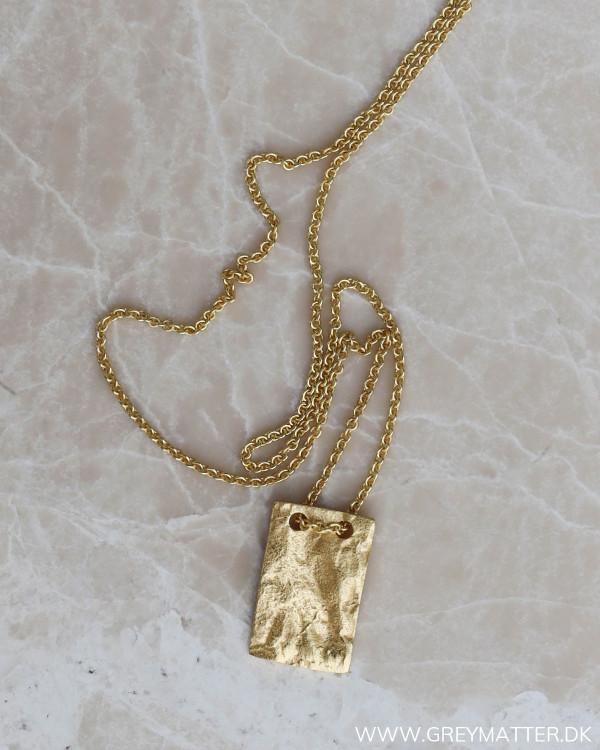 Pure By Nat halskæde i guld