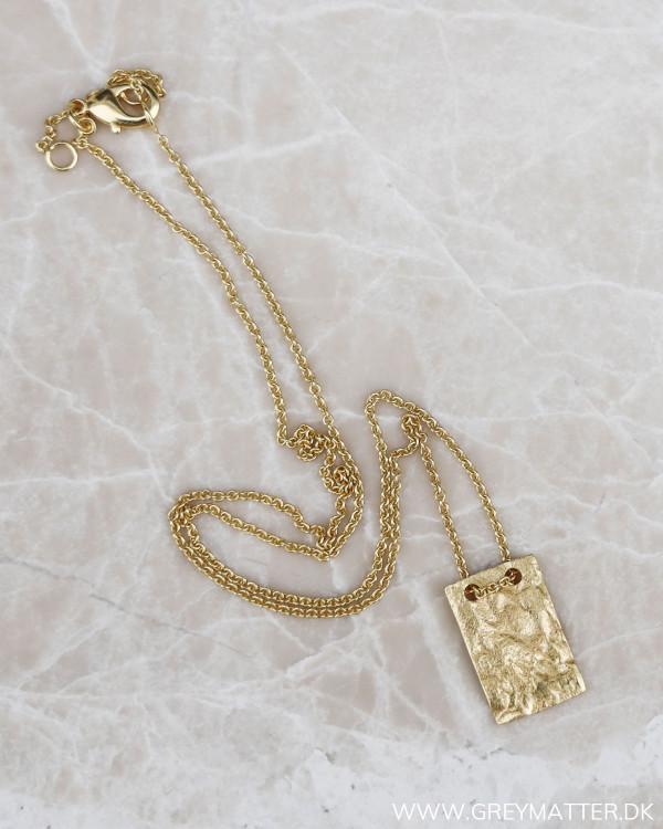 Smuk halskæde til damer i guld