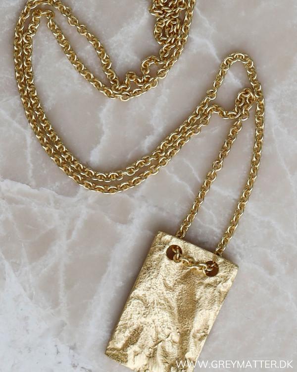 Guld halskæde til damer