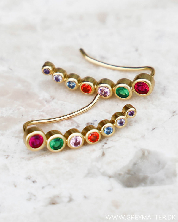 Seven Dot Golden Earring