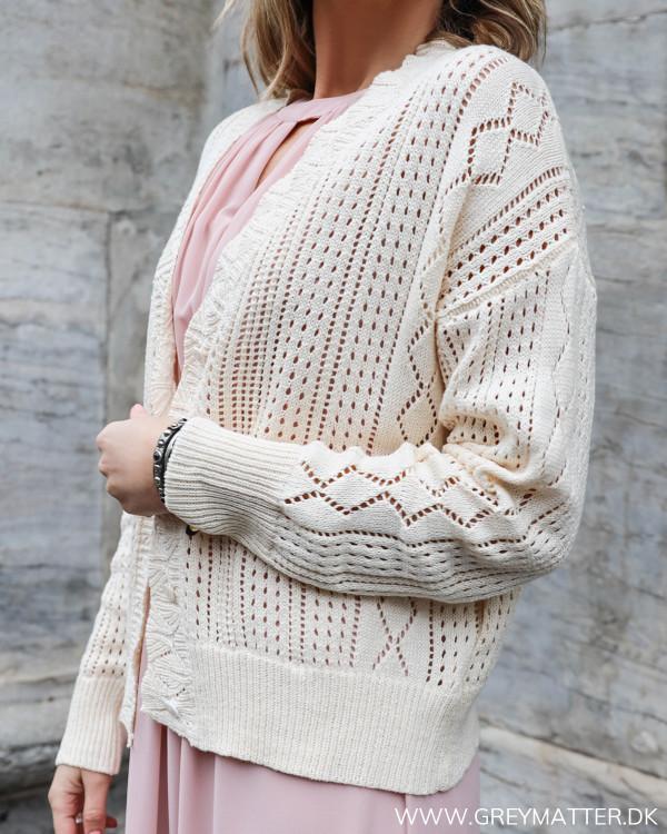 Creme Crochet Cardigan