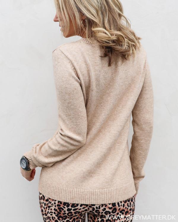 Viril Nomad Melange O-Neck Knit