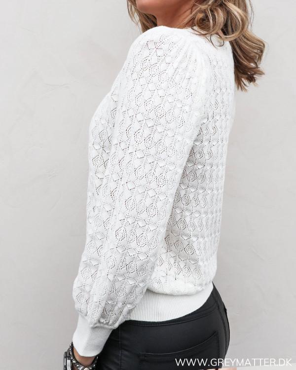 Hally Stitch Off-White Blouse