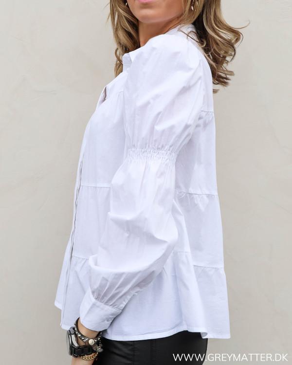 Pcclaudia White Shirt