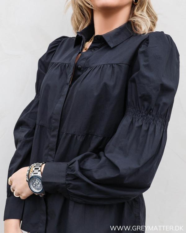 Pcclaudia Black Shirt