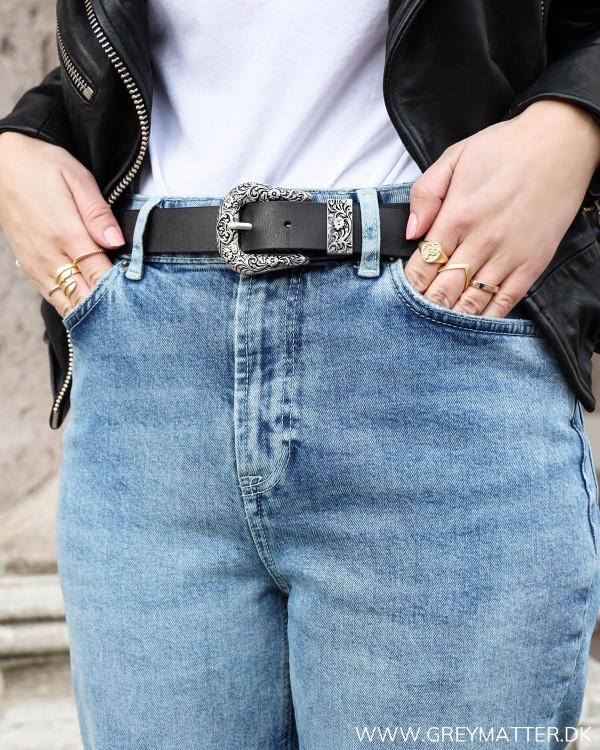 Lækre denim jeans fra Pieces