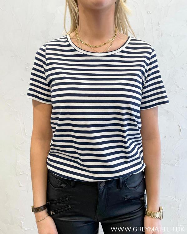 Visus Navy Blazer O-Neck T-Shirt
