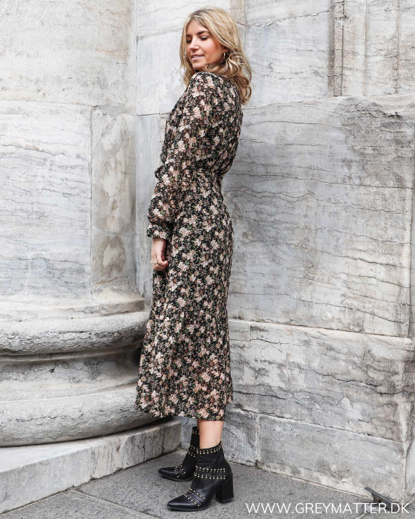 Maxi kjole set fra siden